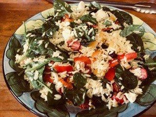 Orzo Mediterranean Pasta Salad